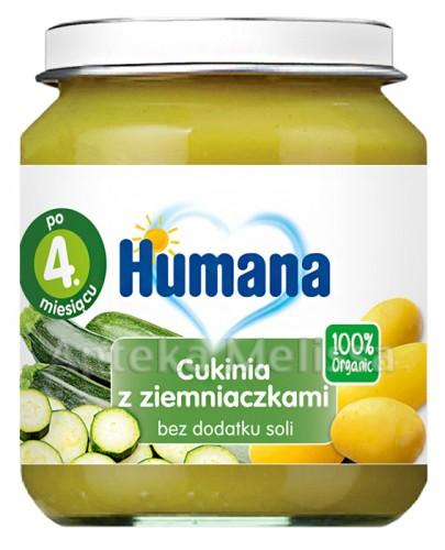 HUMANA 100% ORGANIC Cukinia z ziemniakami - 125 g