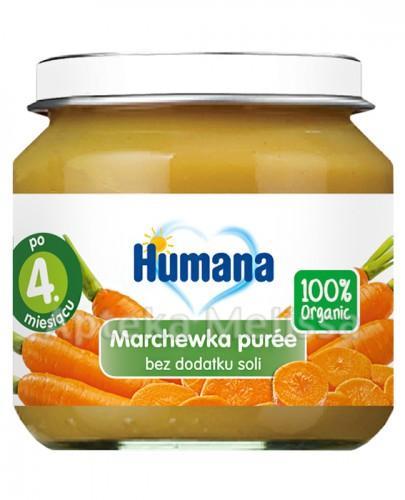 HUMANA 100% ORGANIC Marchewka puree - 80 g - Apteka internetowa Melissa