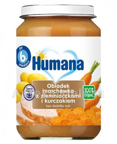 Humana 48 100% Org.Obiadek march/ziem/kur
