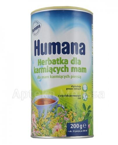 HUMANA Herbatka dla karmiących mam - 200 g - Apteka internetowa Melissa