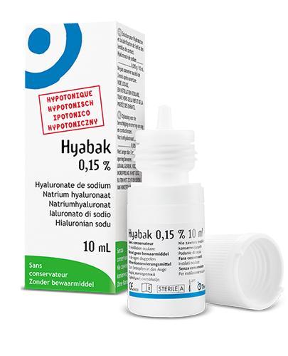 HYABAK 15 mg - 10 ml - Drogeria Melissa