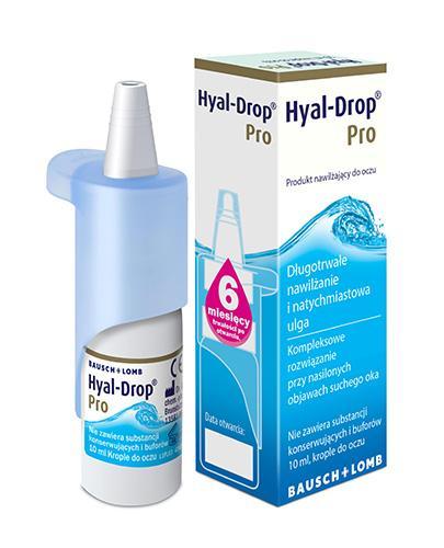 HYAL-DROP PRO Krople do oczu - 10 ml