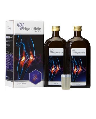 HYALUTIDIN HC Aktiv Syrop - 1000 ml. Redukuje procesy zapalne - cena, opinie, wskazania - Apteka internetowa Melissa