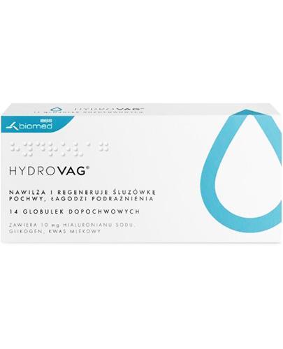 HYDROVAG - 14 szt. lek na suchość pochwy - opinie, stosowanie, ulotka - Apteka internetowa Melissa