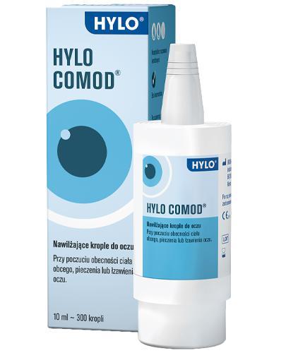 HYLO-COMOD Krople do oczu - 10 ml - Apteka internetowa Melissa