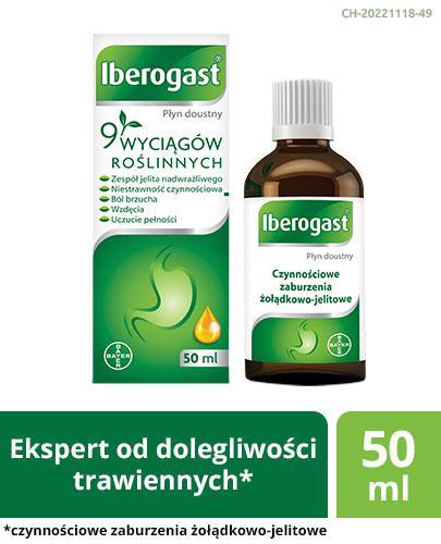 IBEROGAST - 50 ml - Apteka internetowa Melissa