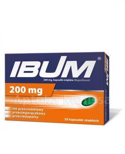 IBUM 200 mg - 10 kaps. - Apteka internetowa Melissa