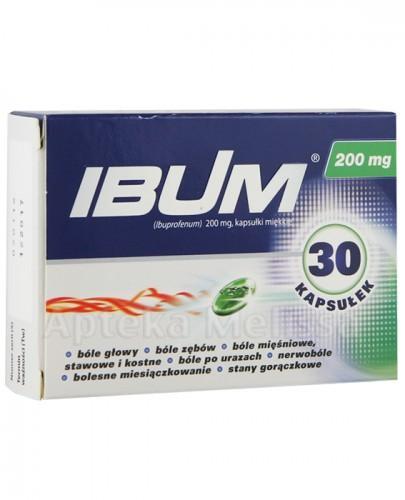 IBUM 200 mg - 30 kaps. - Apteka internetowa Melissa