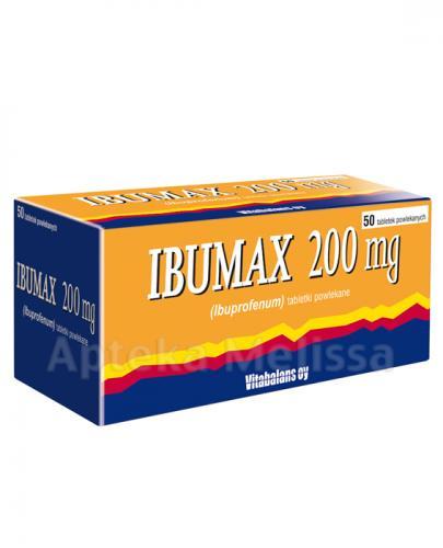 IBUMAX 200 mg - 50 tabl. - Apteka internetowa Melissa