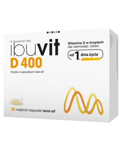IBUVIT D 400 twist-off - 30 kaps. - Apteka internetowa Melissa