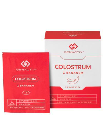 COLOSTRUM Colostrigen - 30 sasz. Na odporność - cena, opinie, stosowanie - Drogeria Melissa