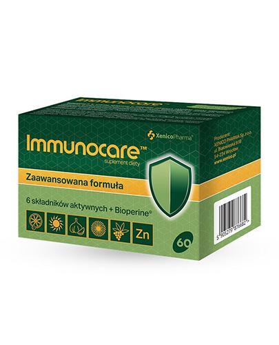 Immunocare - 60 kaps. - cena, opinie, wskazania - Apteka internetowa Melissa