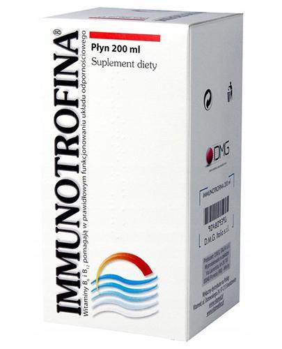 IMMUNOTROFINA Syrop - 200 ml - Drogeria Melissa
