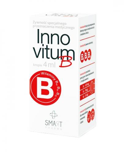 INNOVITUM B Krople - 4 ml Na niedokrwistość - cena, opinie, wskazania - Apteka internetowa Melissa