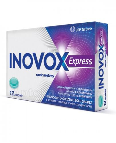 INOVOX EXPRESS Smak miętowy - 12 past. - Apteka internetowa Melissa