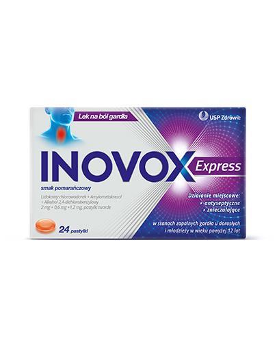 INOVOX EXPRESS Smak pomarańczowy - 24 past.