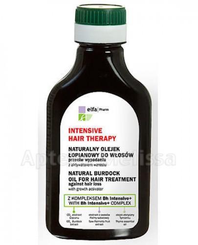 INTENSIVE HAIR THERAPY Naturalny olejek łopianowy do włosów przeciw wypadaniu - 100 ml - Apteka internetowa Melissa
