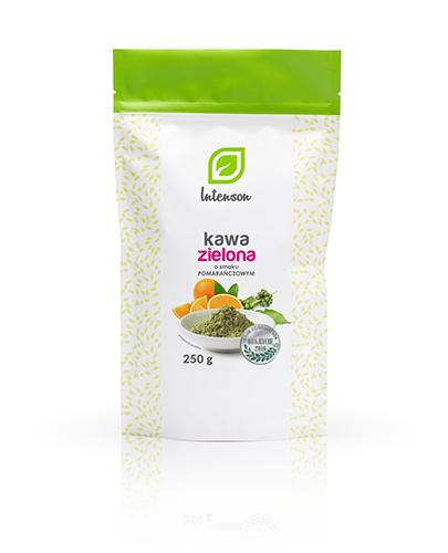 INTENSON Kawa zielona mielona o smaku pomarańczowym - 250 g - Apteka internetowa Melissa