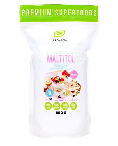 INTENSON Maltitol - 500 g - Apteka internetowa Melissa