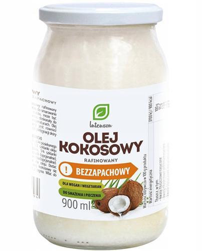 INTENSON Olej kokosowy rafinowany bezzapachowy - 900 ml - Apteka internetowa Melissa