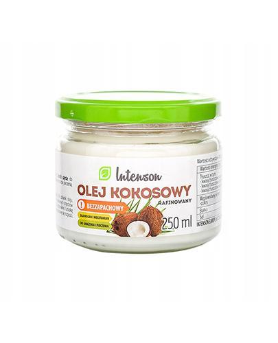 INTENSON Olej kokosowy rafinowany bezzapachowy - 250 ml - Apteka internetowa Melissa