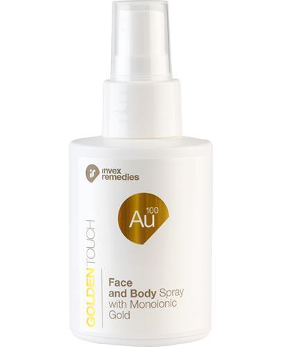 Invex Remedies Golden Touch Au 100 Mgiełka do twarzy i ciała ze złotem monojonowym - 100 ml - cena, opinie, wskazania