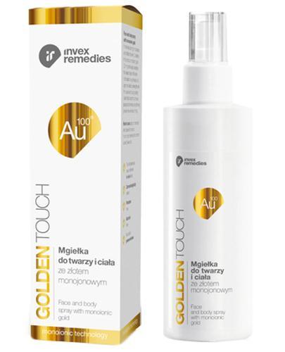 Invex Remedies Golden Touch Au 100 Mgiełka do twarzy i ciała ze złotem monojonowym - 200 ml - cena, opinie, wskazania