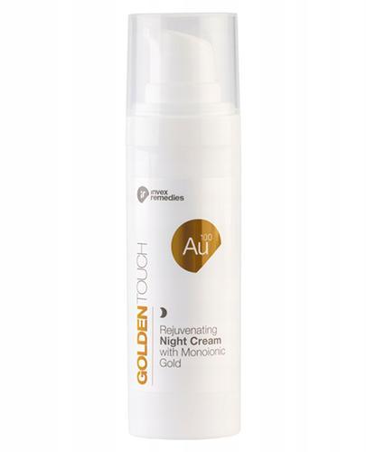 Invex Remedies Golden Touch Au 100 Odmładzający krem na noc ze złotem monojonowym - 30 ml - cena, opinie, stosowanie