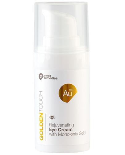 Invex Remedies Golden Touch Au 100 Odmładzający krem pod oczy ze złotem monojonowym - 15 ml - cena, opinie, właściwości