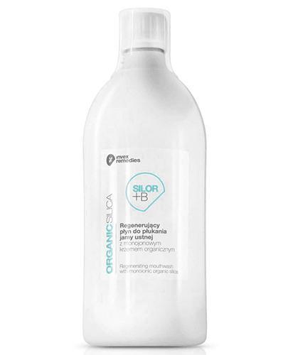 Invex Remedies Organic Silica Silor +B Regenerujący płyn do płukania jamy ustnej z krzemem organicznym i borem - 300 ml - cena, opinie, właściwości