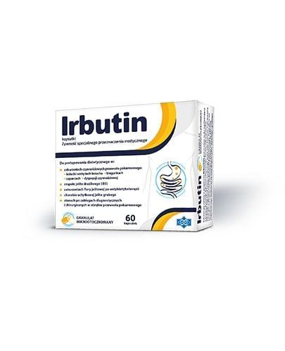 Irbutin - 60 kaps. Na zaburzenia przewodu pokarmowego - cena, opinie, dawkowanie  - Apteka internetowa Melissa