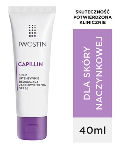 IWOSTIN CAPILLIN Krem intensywnie redukujący zaczerwienienia SPF20 - 40 ml