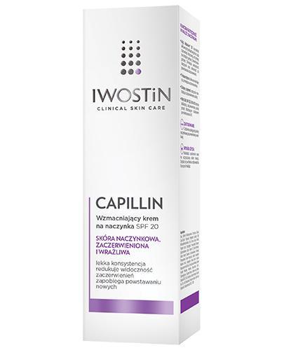 IWOSTIN CAPILLIN Krem na naczynka SPF20 lekka konsystencja - 40 ml - Drogeria Melissa