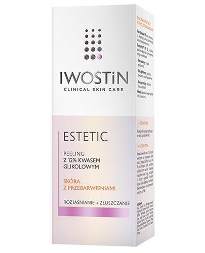 IWOSTIN ESTETIC Peeling z 12% kwasem glikolowym - 30 ml