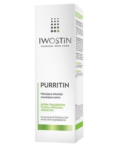IWOSTIN PURRITIN Emulsja matująca - 40 ml