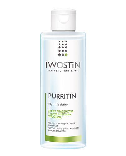 IWOSTIN PURRITIN Płyn micelarny - 215 ml