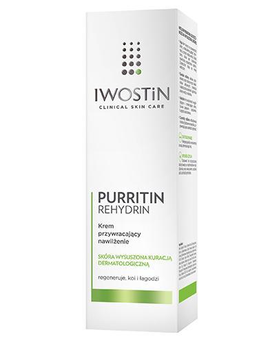 IWOSTIN PURRITIN REHYDRIN Żel nawilżający do mycia twarzy - 150 ml - Drogeria Melissa