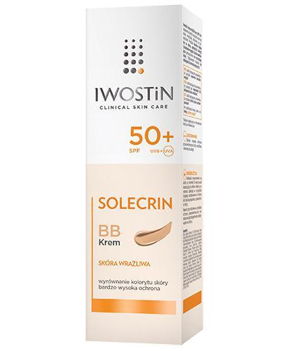 IWOSTIN SOLECRIN BB Krem do skóry wrażliwej SPF50+ - 30 ml