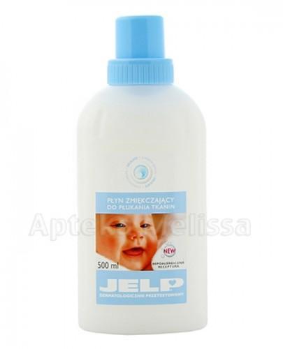 JELP DELICATE Płyn zmiękczający do płukania tkanin - 500 ml - Apteka internetowa Melissa