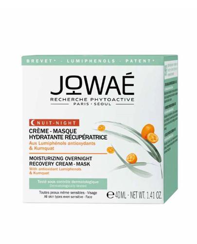 JOWAE Nawilżająco - regenerujący krem-maska na noc - 40 ml - cena, stosowanie, opinie