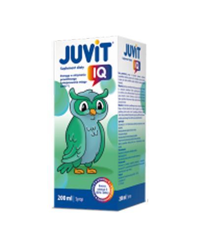 JUVIT IQ Syrop - 200 ml