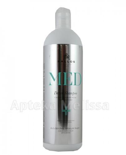 KALLOS MED DETOX Szampon głęboko oczyszczający do skóry głowy ze skłonnością do łupieżu i przetłuszczania się - 1000 ml  - Apteka internetowa Melissa