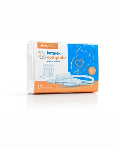 Katarek Complete zestaw na Katar + 10 amp. soli fizjologicznej - 1 zestaw. - cena, opinie, stosowanie