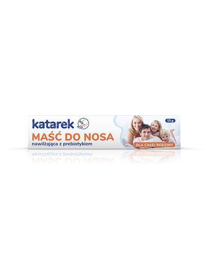 KATAREK Maść do nosa z prebiotykiem - 15 g