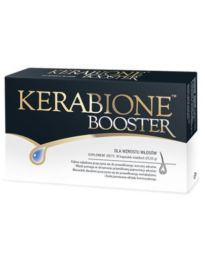 KERABIONE BOOSTER - suplement na włosy i skórę - 30 kaps  - cena, opinie, dawkowanie - Apteka internetowa Melissa