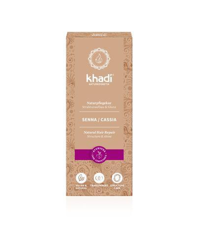 Khadi Henna Cassia - bezbarwna - 100 g - cena, opinie, stosowanie
