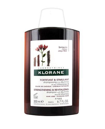 KLORANE Szampon na bazie chininy z wit.B - 200 ml - Drogeria Melissa