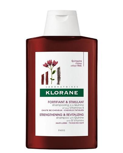 KLORANE Szampon na bazie chininy z wit.B -  400 ml - Drogeria Melissa