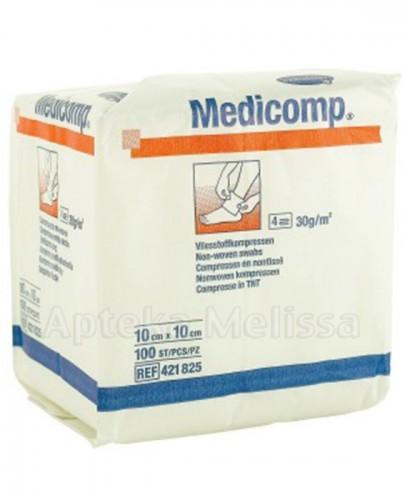 MEDICOMP Kompresy niejałowe 10cm x 10cm - 100 szt. - cena, opinie, wskazania  - Apteka internetowa Melissa