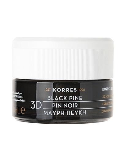 Korres 3D Black Pine Krem na dzień cera normalna i mieszana - 40 ml - cena, opinie, właściwości